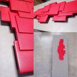 Kamenný designový radiátor Sculptural