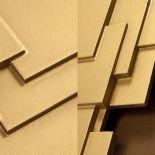 Detailní pohled na designový radiátor Sculptural