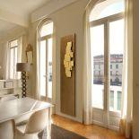 Luxusní designový radiátor Sculptural z Olycale kamene - v interiéru