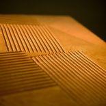 Luxusní designový radiátor Jeux D'ombres z Olycale kamene - detail
