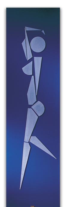 Danseuse - Navrhl MICHEL CINIER | Kolekce luxusních-designových radiátorů