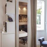 Luxusní designový radiátor Royal Miroir z Olycale kamene - v interiéru