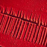 Luxusní designový radiátor Rosso 2 z Olycale kamene - detail