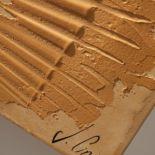 Luxusní designový radiátor Tribal z Olycale kamene - detail