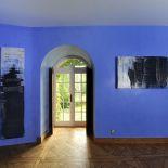 Luxusní designový radiátor Granit Cuivre z Olycale kamene - v interiéru