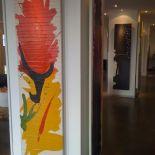 Luxusní designový radiátor Barcelona z Olycale kamene - v interiéru