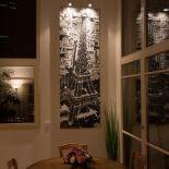 Luxusní designový radiátor Paris My Love z Olycale kamene - v interiéru