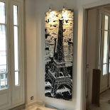 Umělecký kamenný radiátor Paris My Love