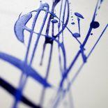 Luxusní designový radiátor Dune Bleu z Olycale kamene - detail