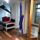Luxusní designový radiátor Blue Gold z Olycale kamene - v interiéru