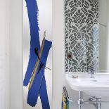 Designový kamenný radiátor Blue Gold od výrobce Cinier