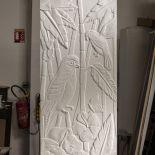 Luxusní designový radiátor Art Nouveau z Olycale kamene