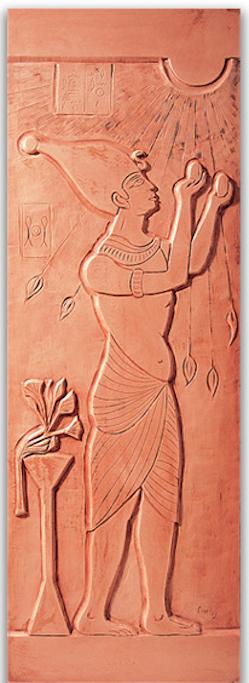 Egyptien - Navrhl MICHEL CINIER | Kolekce luxusních-designových radiátorů