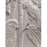 Luxusní designový sušič ručníků Art Nouveau 130 z Olycale kamene