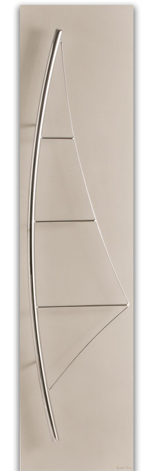 Voile Epure - Navrhl MICHEL CINIER | Kolekce luxusních-designových radiátorů