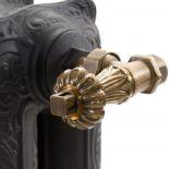 Luxusní retro radiátor Voltaire 97 z kvalitní slitiny