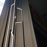 Luxusní designová stojací lampa Mire Vertigo