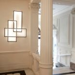 Luxusní designové nástěnné světlo Trio LT