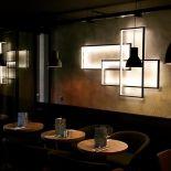 Designové LED osvětlení v kovovém rámu