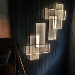 Designové LED osvětlení v kovovém rámu Trio LT od výrobce Cinier