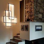 Elegantní LED nástěnné osvětlení Trio LT, zasazené do moderního kovového rámu, od výrobce Cinier