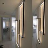Moderní luxusní LED lampy v kovovém rámu z uměleckých dílen Cinier