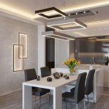 Moderní designové LED osvětlení v kovovém elegantním rámu od výrobce Cinier