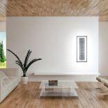 Luxusní designové nástěnné světlo Scandola LT s předním panelem z Olycale kamene