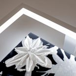 Luxusní designové nástěnné světlo Hawaii LT s předním panelem z Olycale kamene