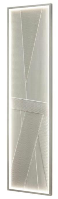 ROC Plissé & ROC LED Plissé - Navrhl JOHANNE CINIER | Kolekce luxusních-designových radiátorů